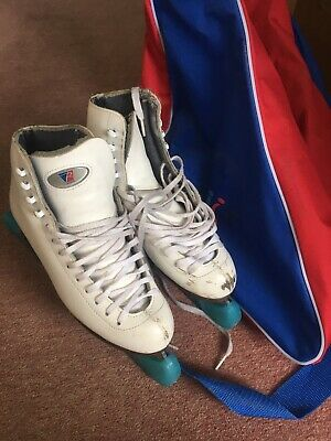 Figure Ice Skates UK Size 5 Tight Fit With Bag And Blade Protectors