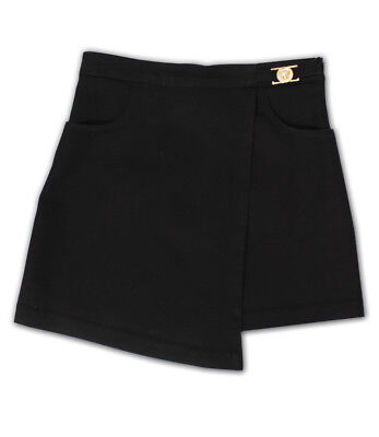 Young Versace Girls Black Skirt BNWT