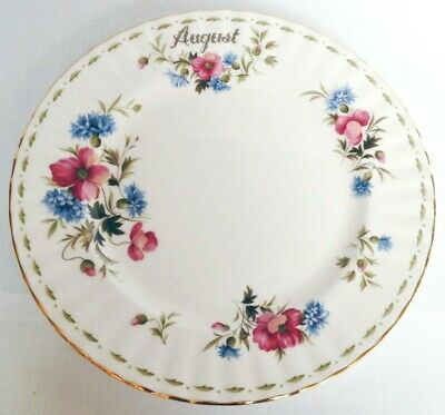 Royal Albert Flower of The Month August Salad Plate - 2nd quality