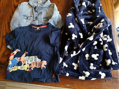 Baby Boys Bundle Of Clothing Age 9-12 Months Joules,H&M and George