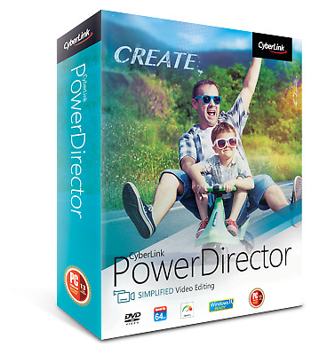 CyberLink PowerDirector 16 LE Video/Audio Editor Editing Program Download + Key