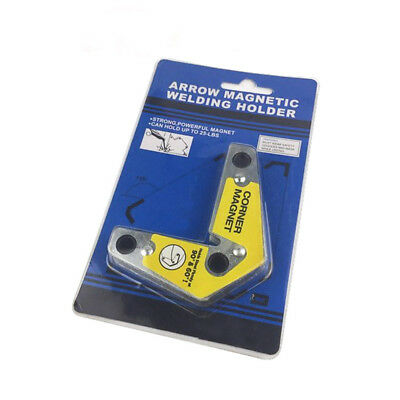 Arrow Magnetic Welding Holder 25lb Weight Limit 60° & 90° Corner Magnet Dual Use