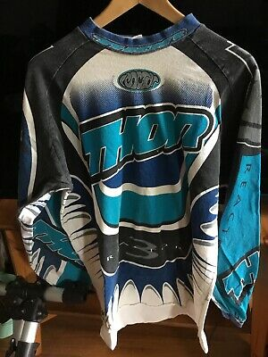 Thor reactor Racing Vintage Motocross Jersey Size XL