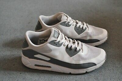 timeless design 73986 f030f Nike Air Max 90 Ultra 2.0 Essential White Cool Grey 875695-102 Mens Sz 10