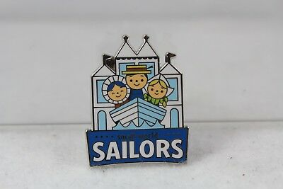 Disney DLR Disneyland Pin Mystery Collection Mascots It's a Small World Sailors