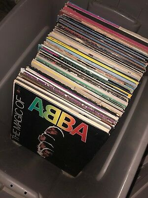 MASSIVE Lot Of Vintage Vinyl Records! Liquidation (EVERYTHING MUST GO!)