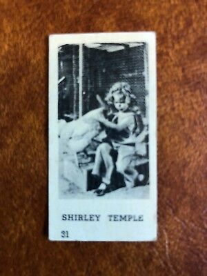 1930S Shirley Temple Trade Type Card