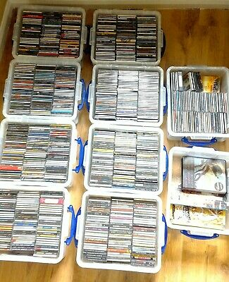 CD Collection - 824 albums, 35 singles - wide variety of genres