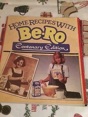 BE RO CENTENARY EDITION HOME RECIPES vintage cook book