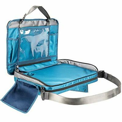 Kids Travel Tray for Car Seat. Detachable 4 in 1 Lap Desk, Organizer, Tablet Hol