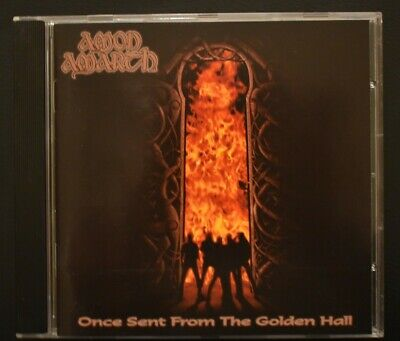 Amon Amarth – Once Sent From The Golden Hall CD (1998 Metal Blade)