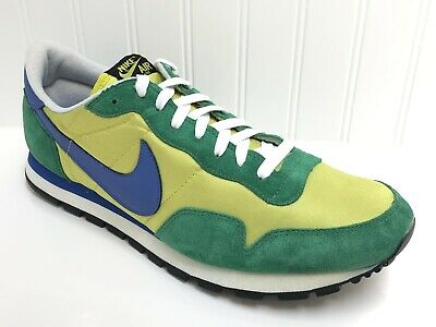 size 40 28532 430a0 2008 Nike Air Pegasus Men s Athletic Running Shoes Yellow, Green Size 13  Rare
