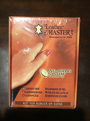 Leather Master Anti-Ageing Leather Care System By Dr. Tork NIB 250ML