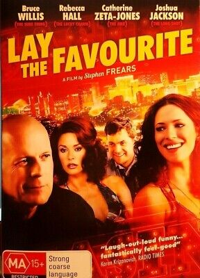 Lay The Favourite Dvd Bruce Willis Free Post In Australia