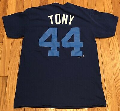 c2056ea12 Chicago Cubs Anthony Rizzo Tony Majestic 2017 Shirt Players Nickname Weekend  MLB