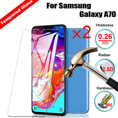 2x Tempered Glass Screen Protector Cover for Samsung Galaxy A40/ A60 / A70 / A30