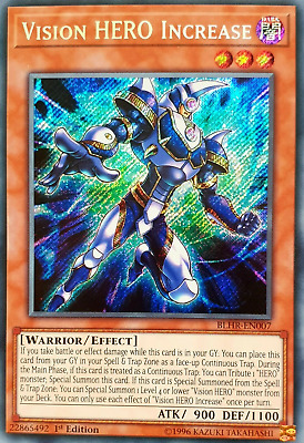 Vision Hero Increase BLHR 1st Edition NM M
