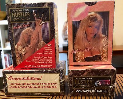 Hustler Series 1 Factory Sealed Collector Card Set 1-100 Premier Edition