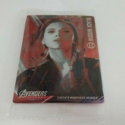 Marvel Avengers END GAME Wafer Card Vol.1 No.16 Black Widow Visual card  New FS