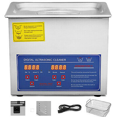 Digital Stainless Steel 3L Ultrasonic Ultra Cleaner Bath with Timer & Heater