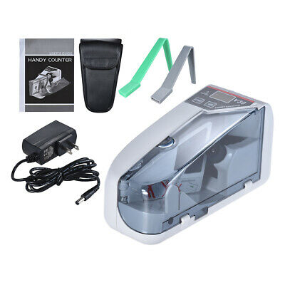 Mini Handy Bill Cash Banknote Counter Money Currency Counting Machine Fast Speed