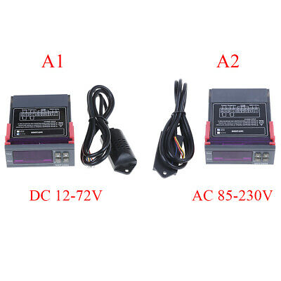 AC 110V 220V DC 12V 10A digital temperature humidity conFRoller SHT2000 FR