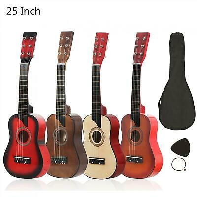 25 Inch Basswood Acoustic Guitar with Bag Pick Strings for Children and Beginner