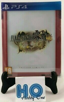 Final Fantasy Type-0 HD - Ff - Edition Limited - Ps4 - New in Blister Packs