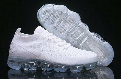 a8174f713317 NIKE AIR VAPORMAX 2018 Flyknit Pure Platinum Men s Trainers All Size ...