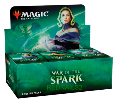 War of the Spark Booster Box of 30x Booster Packs Partial Box Sealed MTG