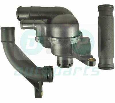 Thermostat With Housing + Coolant Pipes Kit For Mg Zt, Mg Zt-T Kv6 & Mg Zs