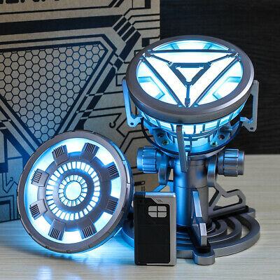 Iron Man Arc Reactor MK43, MK46 Tony Stark Heart LED USB DIY Model Movie Prop
