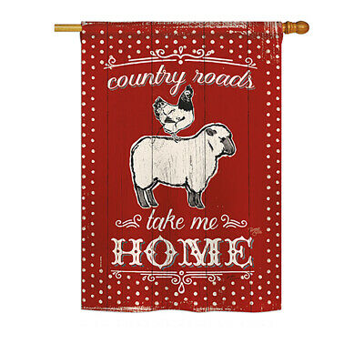Country Friends - Impressions Decorative House Flag Set - HS110124-BO