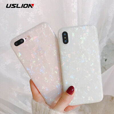 Antichoc Silicone Coque Marbre Housse for iPhone XS XR Max 8 7 6 Plus Case Cover