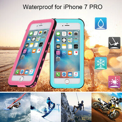 Waterproof Shockproof Hybrid Rubber Case Cover for Apple iPhone 5S 6 7S 8 8 Plus