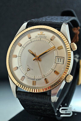 RARE JAEGER-LE COULTRE MEMOVOX gold/steel