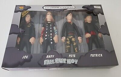 Fall Out Boy Collectable Band Figures Boxset SOTA Toys (Unopened/Unused)