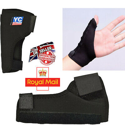 Neoprene Thumb Wrist Hand Brace Support And Spica Splint Arthritis Carpal Tunnel