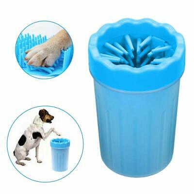 Portable Dog Paw Cleaner Pet Grooming Foot Washer Silicone Brush Cleaning Cup