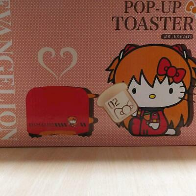 Hello Kitty Evangelion Collaboration Asuka Toast Kawaii Carino Limitata Giappone