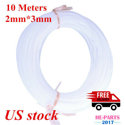 10 Meters 2mm*3mm ECO Solvent PE Hard Ink Tube for Roland Mimaki Muto-US Stock