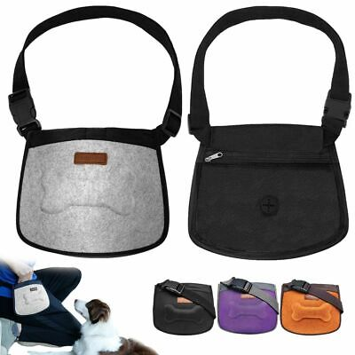 Dog Pouch Training Obedience Agility Bait Bag Waterproof Puppy Snack Pouch Food