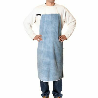 Welding Apron Genuine Cowhide Leather Heavy Duty Flame Resistant Working Apparel