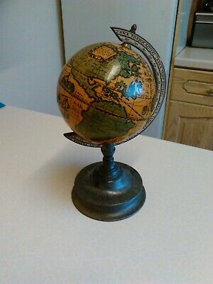 Modern Italian Plastic Reproduction Desk Globe (1807)