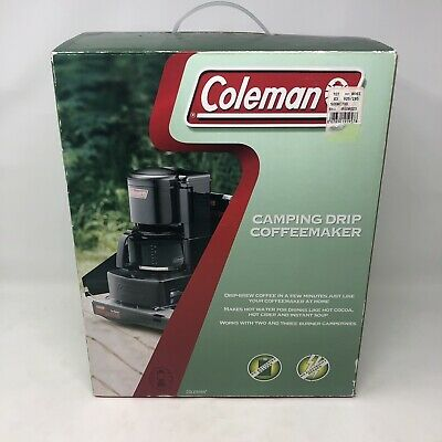 Coleman Camping Drip Coffeemaker 10 Cup No Batteries No Electricity Hiking