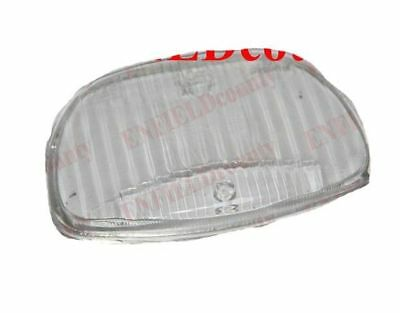 New Headlamp Spare Glass Lens for Vespa 150 Sprint 150 GL Scooters CAD