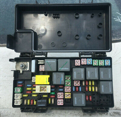 2008 2009 dodge nitro jeep liberty tipm totally integrated fuse box relay  module