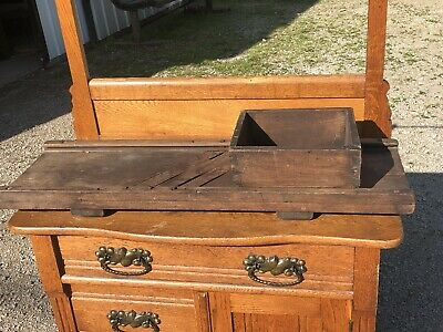 """RARE HUGE FOOTED Antique 19th Century Slaw Cabbage Cutter Slicer Board 34""""x11"""""""