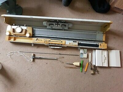 empisal knitmaster knitting machine Model 326 gwo with spares box