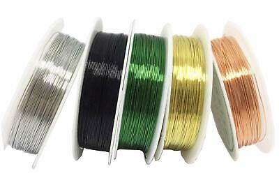 Unplated Copper Wire Tiara Jewellery Making 0.2mm-1mm Wrapping Beading